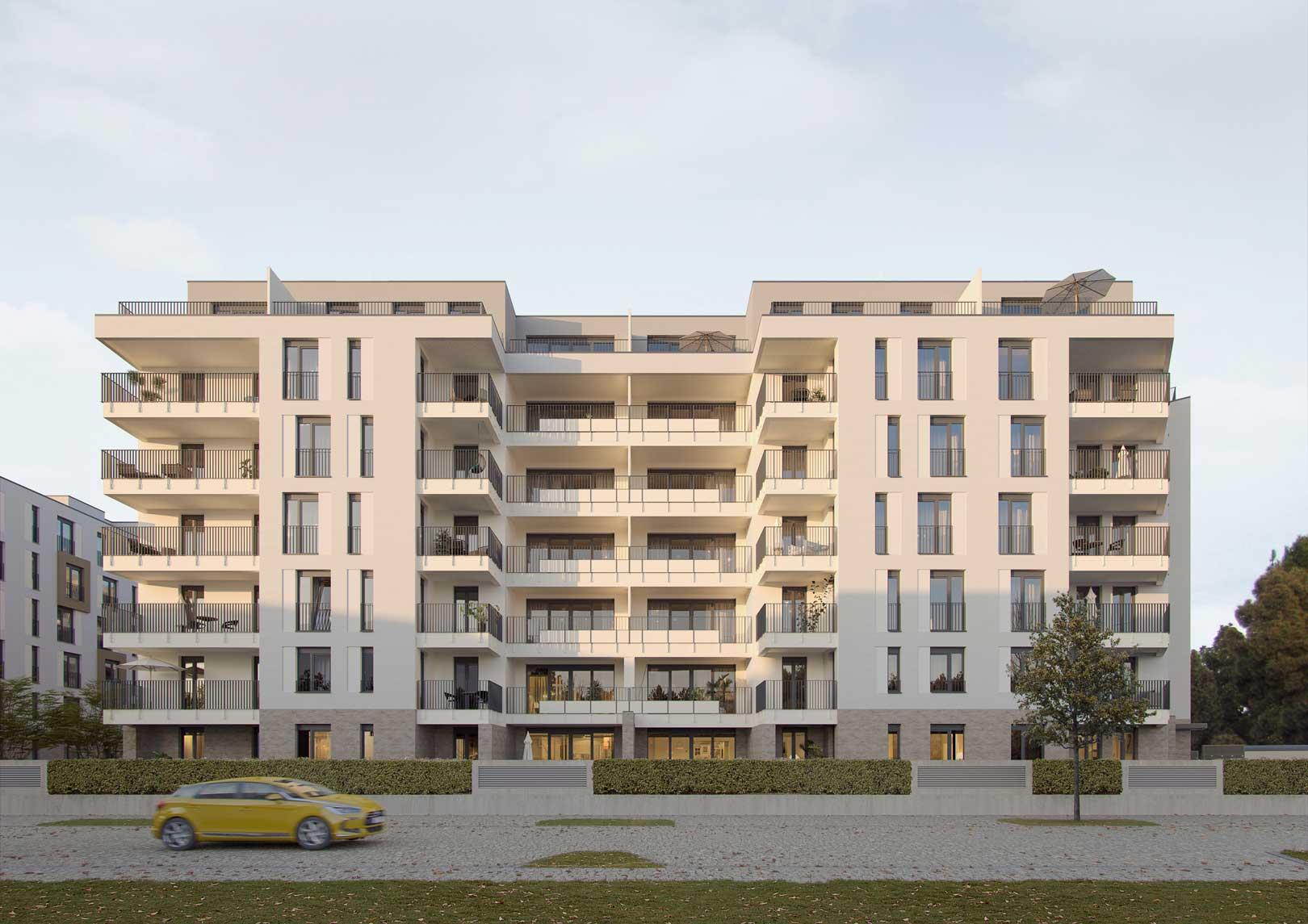 Quartier Neue Mitte Schönefeld - Unverbindliche Visualisierung