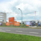 BUWO NEUE MITTE SCHÖNEFELD - Baustelle im Juli 2020