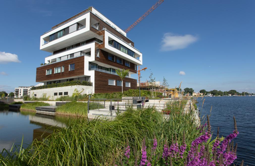 BUWOG-Projekt in Berlin-Grünau: Das nachhaltige Quartier 52° Nord direkt am Ufer der Dahme